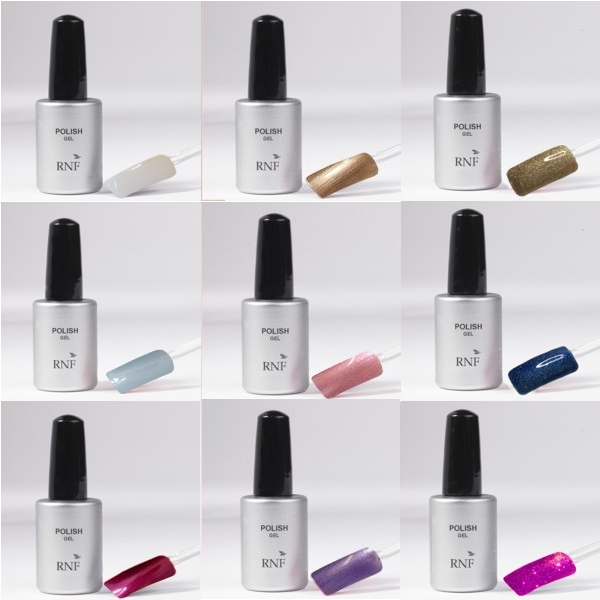 Set 9 Polish Gel 15 ml - Mod.2