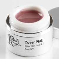 Soak Off Gel Cover Pink 7 ml.
