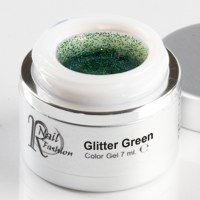 Gel Colorato Glitter Green 7 ml.