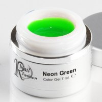 Gel Colorato Neon Green 7 ml.