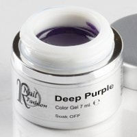 Soak Off Gel Deep Purple 7 ml.