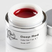 Soak Off Gel Deep Red 7 ml.