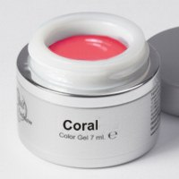Gel Colorato Coral 7 ml.