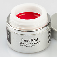 Nail Art Gel Fast Red 7 ml.
