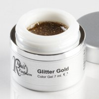 Gel Colorato Glitter Gold 7 ml.