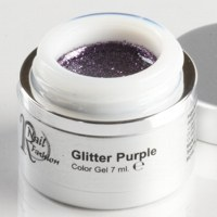 Gel Colorato Glitter Purple 7 ml.