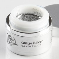 Gel Colorato Glitter Silver 7 ml.