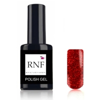 Polish Gel Glitter Star Red 15 ml.