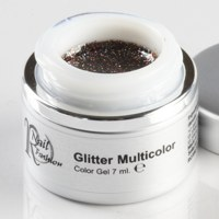 Gel Colorato Glitter Multicolor 7 ml.