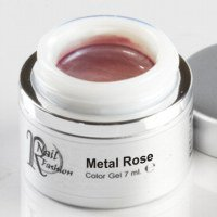 Gel Colorato Metal Rose 7 ml.