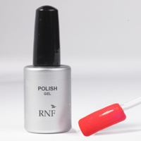 Polish Gel Fluo Glitter Coral 15 ml.