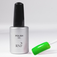Polish Gel Fluo Glitter Green 15 ml.