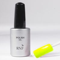 Polish Gel Fluo Glitter Lemon 15 ml.
