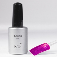 Polish Gel Glitter Fucsia 15 ml.