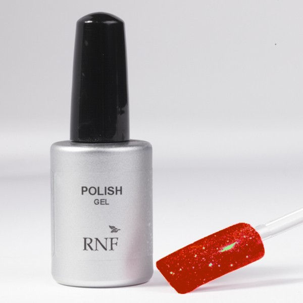 Polish Gel Glitter Red 15 ml.