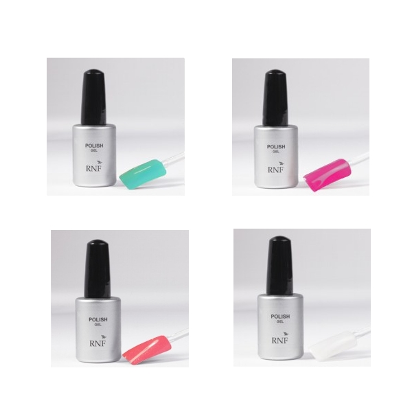 Set 4 Polish Gel 15 ml - Mod. 1