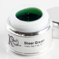Sheer Gel Green 7 ml.
