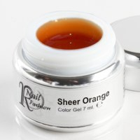 Sheer Gel Orange 7 ml.