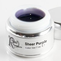 Sheer Gel Purple 7 ml.